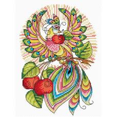 Набор для вышивания крестом М.П.Cтудия Сказочная птица (М-049)