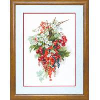 Набор для вышивания крестиком Чарівна мить Сладкая ягода (М-266)