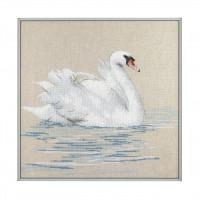 Набор для вышивания крестиком Чарівна мить Лебедь (М-276)