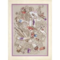 Набор для вышивания крестиком Чарівна мить Творческое вдохновение (М-285)