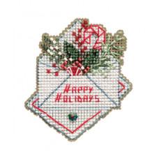 Набор для вышивания Mill Hill Праздничные пожелания (MH182132)
