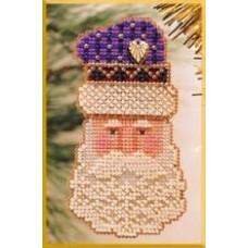 Набор для вышивания Mill Hill Дед Мороз (MHCSF14)