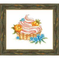 Набор для вышивания крестиком Сделано с любовью Лукошко с морошкой (ВИ-52)