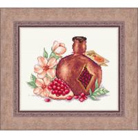 Набор для вышивания крестиком Сделано с любовью Гранатовое вино (КГ-07)