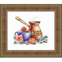 Набор для вышивания крестиком Сделано с любовью Кофе по-восточному (ВИ-55)