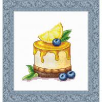 Набор для вышивания крестиком Сделано с любовью Лимонная долька (ВИ-56)