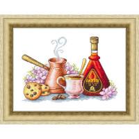 Набор для вышивания крестиком Сделано с любовью Кофе со вкусом Амаретто (ВИ - 59)