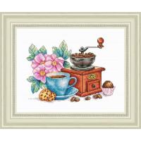 Набор для вышивания крестиком Сделано с любовью Классический кофе (ВИ - 60)