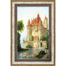 Набор для вышивания крестиком Чарівна мить Дворец для принца (РК-120)