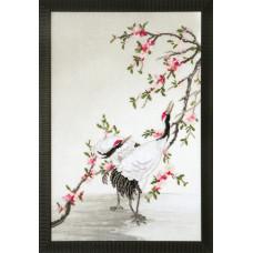 Набор для вышивания крестиком Чарівна мить Журавли, собирающие росу (РК-123 )