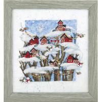 Набор для вышивания крестиком Чарівна мить Рождественская сказка (РК-132)
