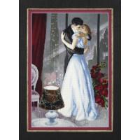 Набор для вышивания крестиком Чарівна мить Романтический вечер (РК-134)