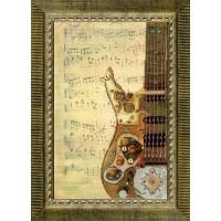 Набор для вышивания крестиком Чарівна мить Звуки техно (РК-084)