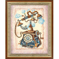 Набор для вышивания крестиком Чарівна мить Ожидание звонка (РК-085)