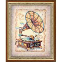 Набор для вышивания крестиком Чарівна мить Эхо прошлого (РК-086)