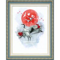 Набор для вышивания крестиком Чарівна мить Журавлиная песня (РК-098)