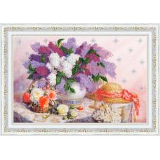 Набор для вышивания бисером Золотое руно Благоухание весны (РТ-162)