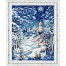 Набор для вышивания крестиком Золотое руно Волшебница-зима (СО-014)
